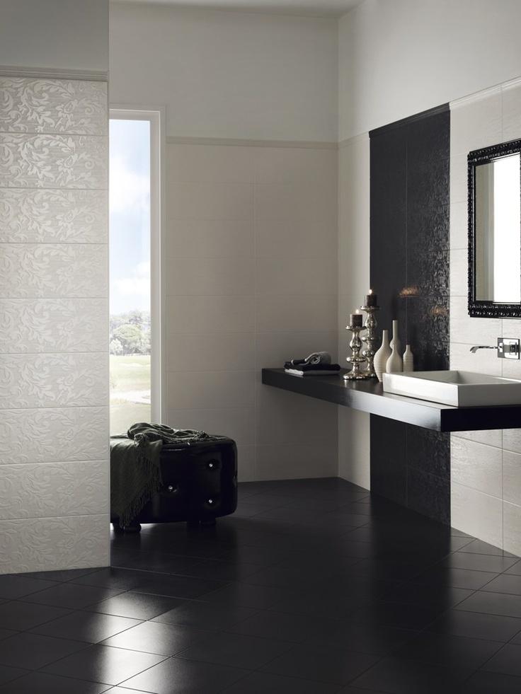 Ceramic wall/floor tiles SILK by ASCOT Ceramiche #bathroom