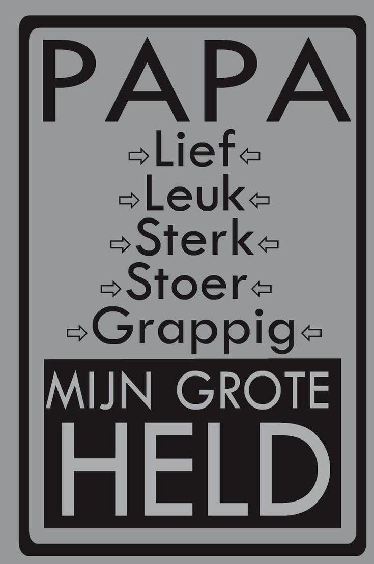 Foto: voor papa verder geen commentaar , de tekst zegt voldoende. Geplaatst door Jymo op Welke.nl