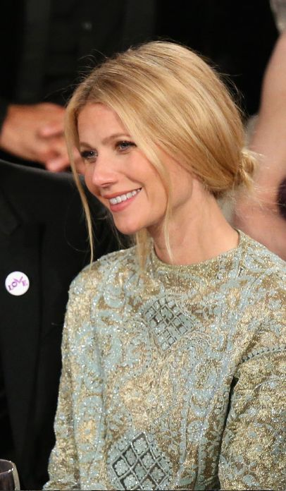 Gwyneth Paltrow hair 2014 Golden Globes