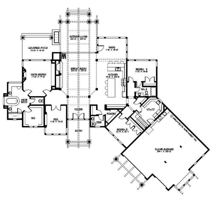 346 best House Plans images on Pinterest | Craftsman homes ...