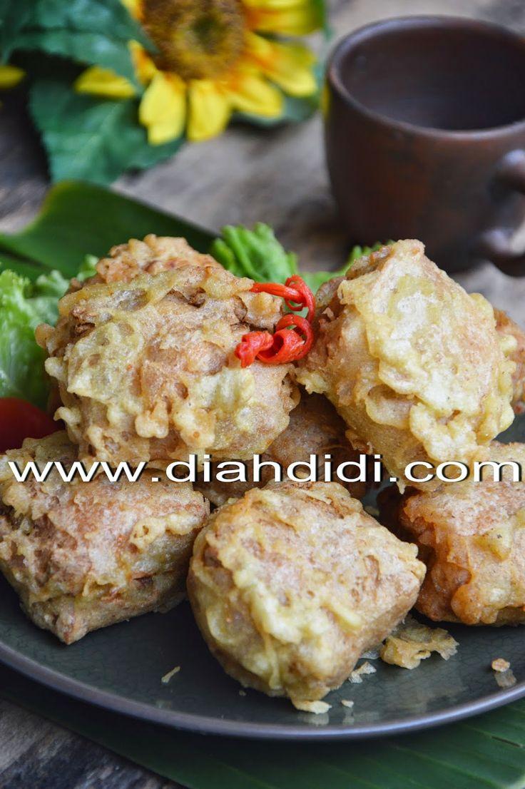 Diah Didi's Kitchen: Tahu Berontak Isi Rebung, Ayam dan Udang