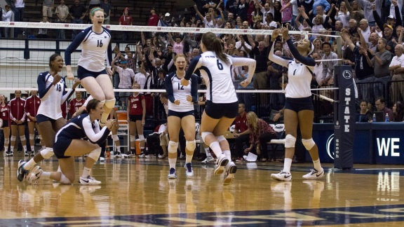 Penn State volleyball ... love watching them.