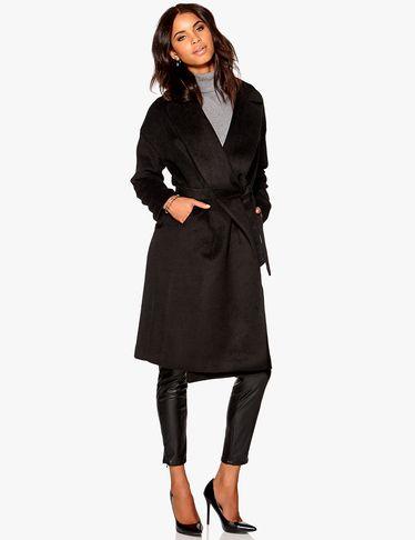 Klassischer Mantel in Schwarz