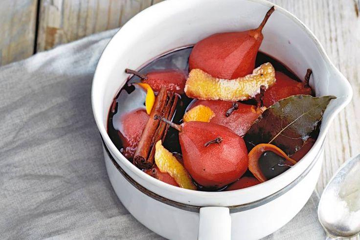Je keuken vult zich met nostalgische geuren bij het stoven van deze peertjes - Recept - Stoofperen - Allerhande