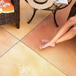 How to stain your concrete patio.
