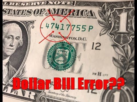Dollar serial numbers worth money | Peatix