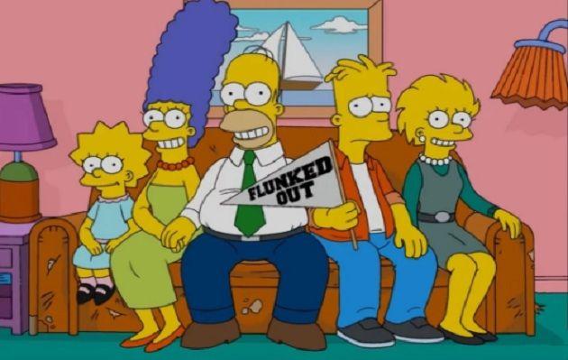 Personaje de la familia Simpson tendrá relación gay