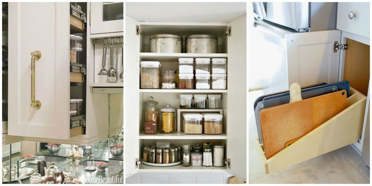 11 Organizing Ideas That Make the Most Out of Your Cabinets  - HouseBeautiful.com