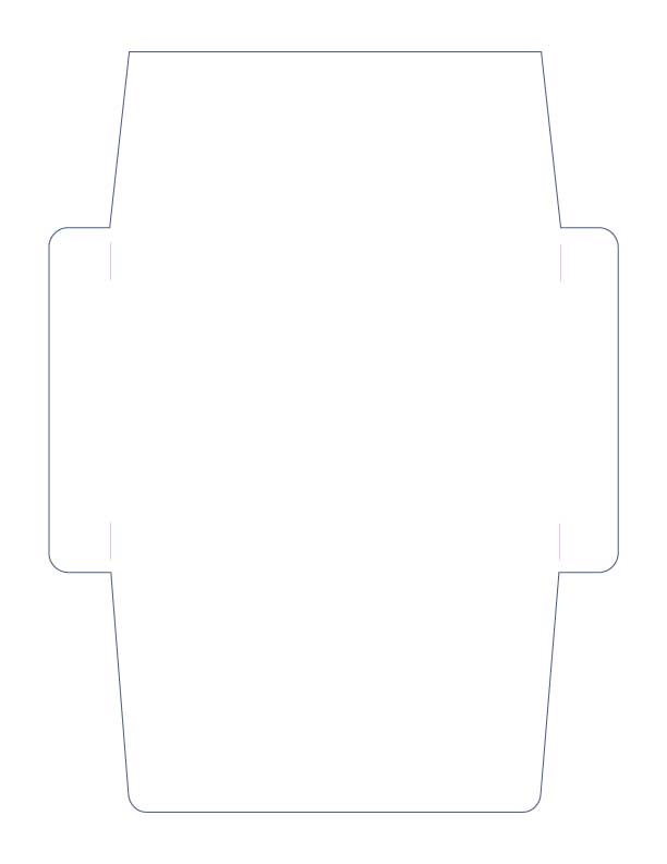 Simple A2 Envelope Cutting file in SVG GSD and KNK formats