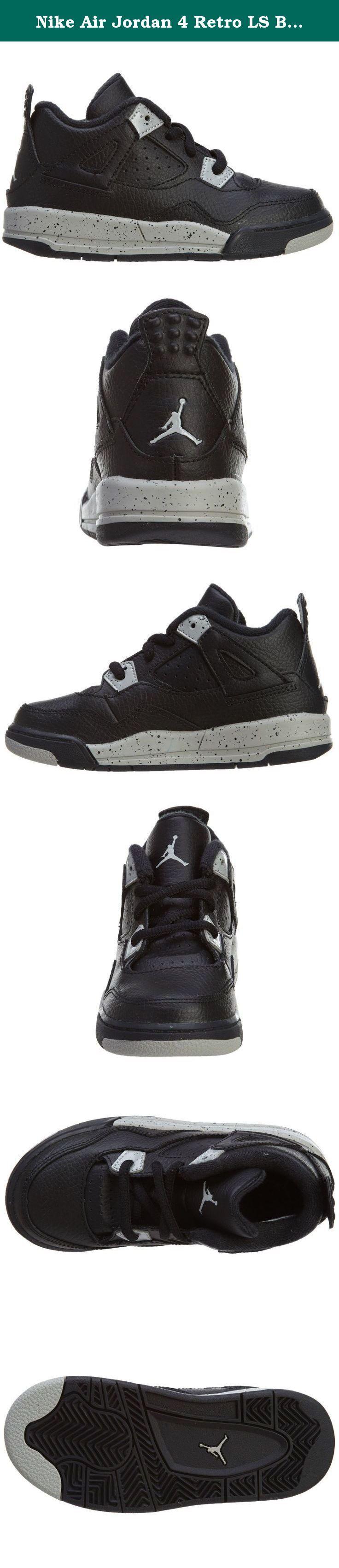 Nike Air Jordan 4 Retro LS BT Infant Toddler Trainers 707432 Sneakers Shoes (uk 3.5 us 4C eu 19.5, black tech grey black 003). nike air jordan 4 retro LS BT infant toddler trainers 707432 sneakers shoes.