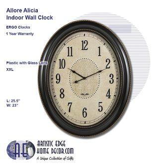 ERGO Allore, Alicia Wall Clock