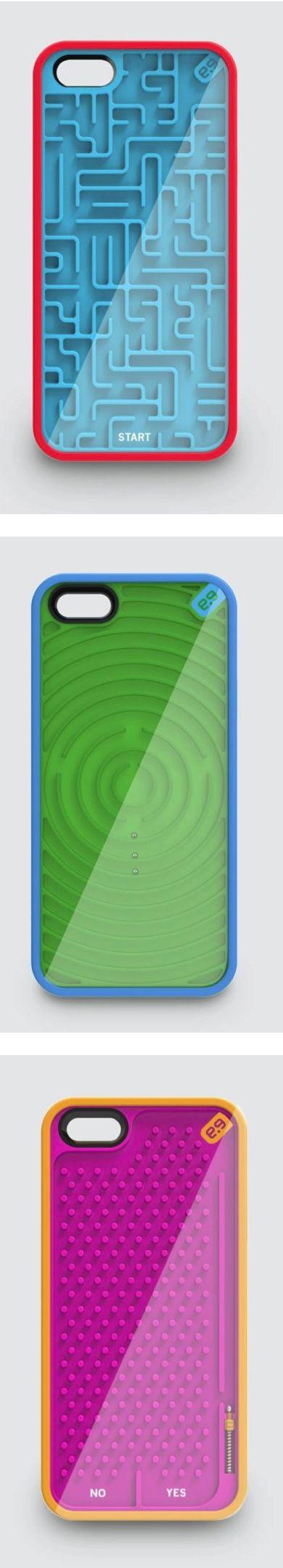 Case pour iPhone avec des obstacles et des labyrinthes dessus le case pour iPhone!