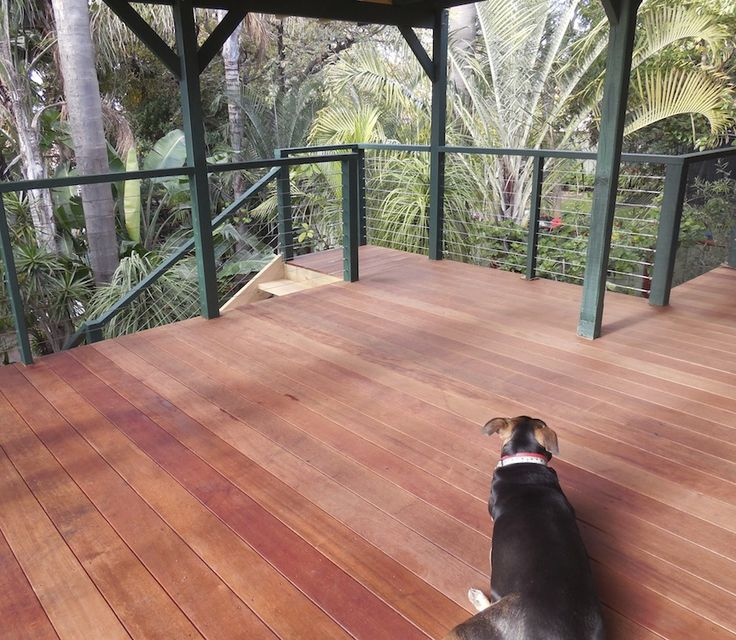 Hardwood decking balcony Perth by Castlegate Home Improvements