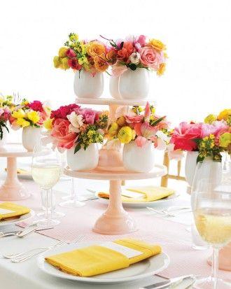Peças centrais do casamento   Martha Stewart Weddings