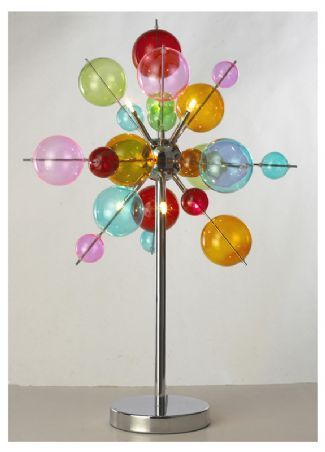 The 25 best multicoloured chandeliers ideas on pinterest 6 light multicoloured ball table lamp lbl23t6c aloadofball Gallery
