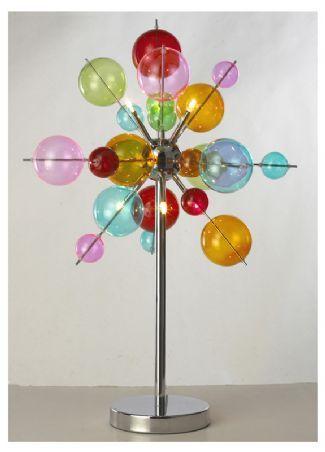 6 light Multicoloured Ball Table Lamp LBL23T/6C