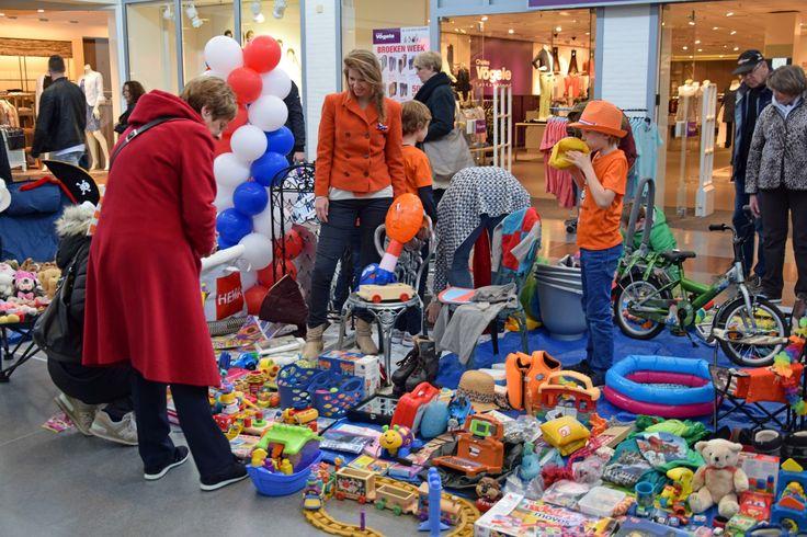 Koningsdag 27 april - Vrijmarkt in Etten-Leur-Centrum.