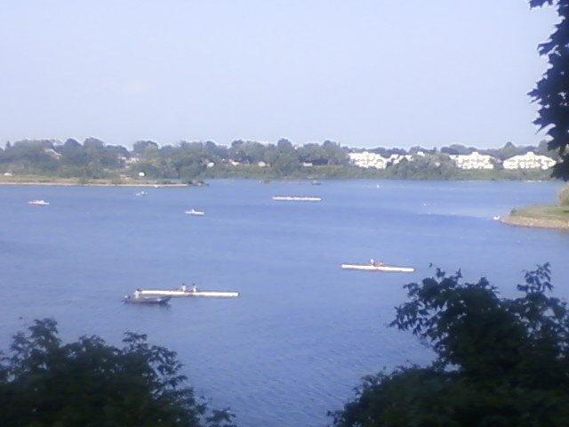 Martindale Pond, Port Dalhousie  Home of the Royal Canadian Henley Regatta