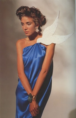 1988 Yves Saint Laurent 'Dove' dress