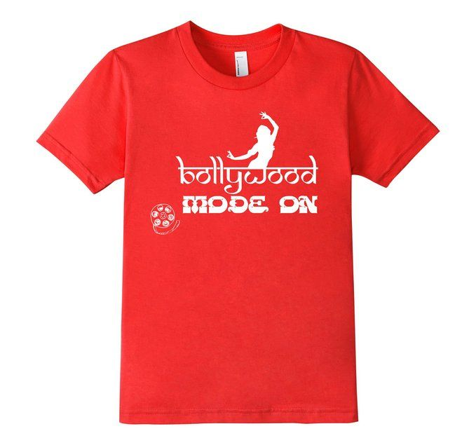 Bollywood Mode On T-Shirt  Variety of Sizes and Colors. Click Below  http://www.amazon.com/dp/B01DBTL8IY/ref=twister_B01DBTN4RW