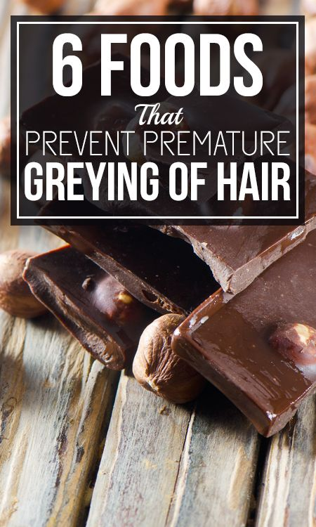 6 Foods That Prevent Premature Greying Of Hair