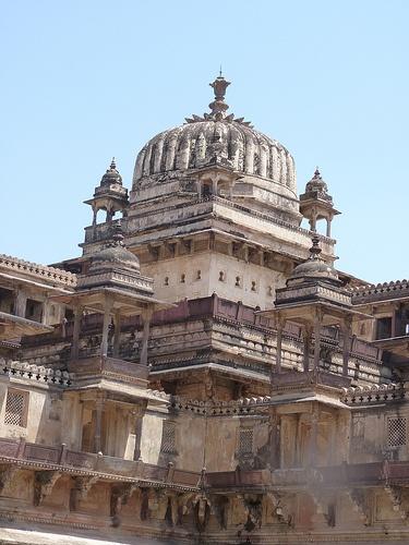 Orchha Palace India