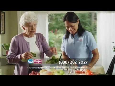 Comfort Keepers National TV Spot, Diet Nutrition - 15 Seconds - YouTube - #ComfortKeepers focuses on #seniorhealth #nutrition