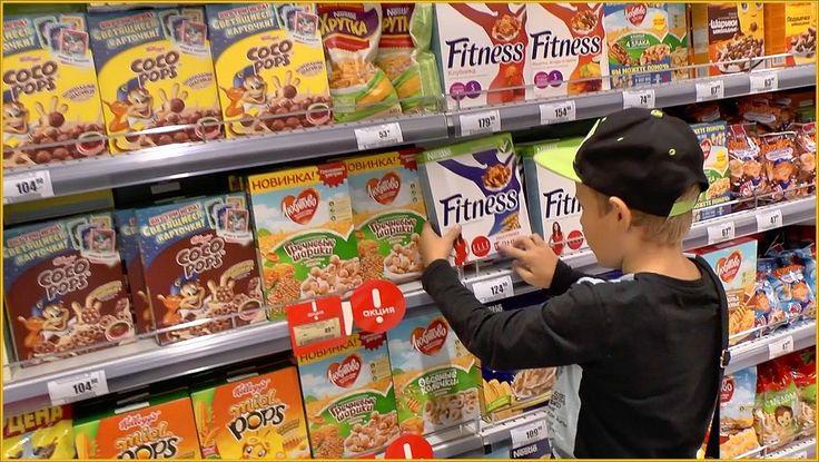 Vlog Кукурузные Хлопья Nestle Gold Cocopops Nestle Nesquik завтрак Fitne...