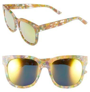 GENTLE MONSTER 56mm Retro Sunglasses