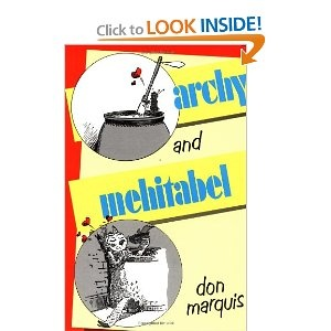 Archy and Mehitabel. I feel like I should own this someday.