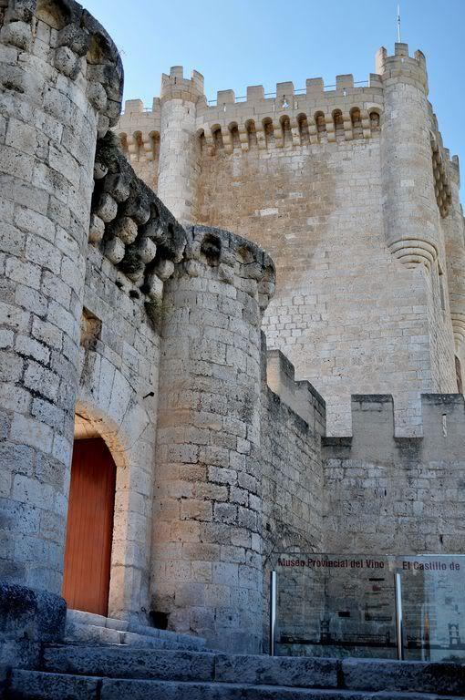 Замки Испании - Castillo de Peñafiel Castilla y León ,Spain