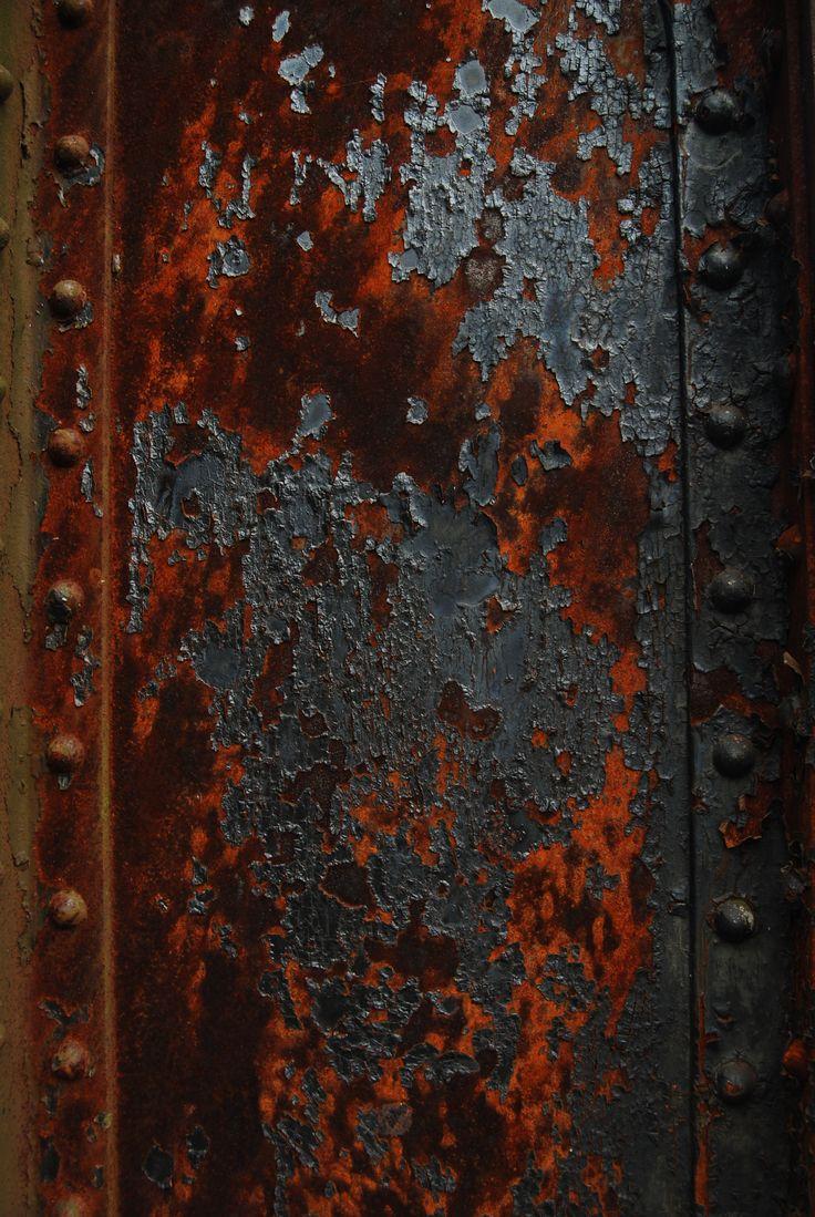 rusted steel the aesthetics of rust pinterest orange black and texture. Black Bedroom Furniture Sets. Home Design Ideas