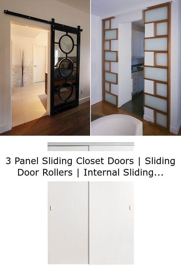 3 Panel Sliding Closet Doors Sliding Door Rollers Internal Sliding Partition Doors In 2020 Modern Patio Doors Modern Sliding Doors Sliding Wood Doors