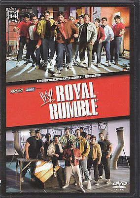WWF WWE Royal Rumble 2005 DVD Triple H Randy Orton