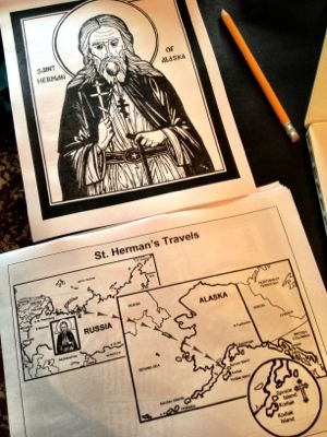 Orthodox Saint Activity Binders. This will be GREAT for our Church!
