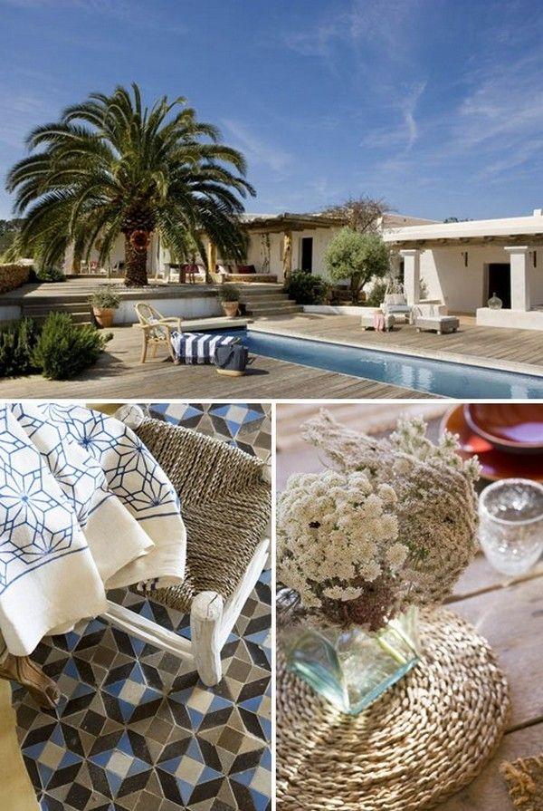 Deze prachtige woning staat op het Spaanse eiland Formentera. Foto's door Jordi Canosa.  ...