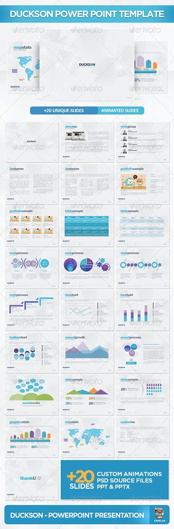 Presentation Templates - Duckson PowerPoint Presentation Template | GraphicRiver