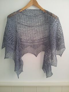 1000+ ideas about Crescent Shawl on Pinterest Shawl ...