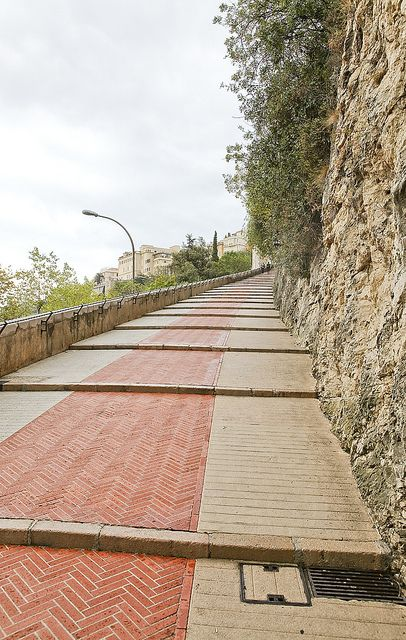 Stairs to the Palais - Monaco