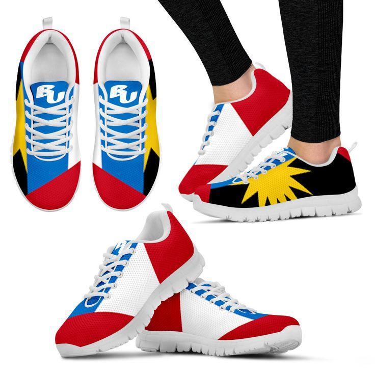 BU - Antigua Flag Women's Running Sneakers