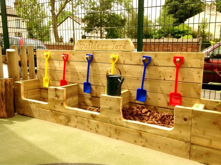 Loving this idea, Children love digging and transporting things. By @Darla Sherwood Sherwood Sherwood Sherwood Sherwood Sherwood Jardine Canvas EYFS