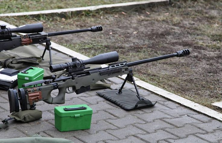 The Accuracy International Arctic Warfare Rifle