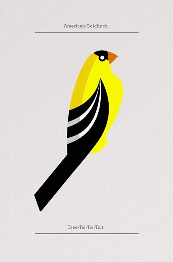 Flora & Fauna Birds Editions posters – Josh Brill | Roger Allen