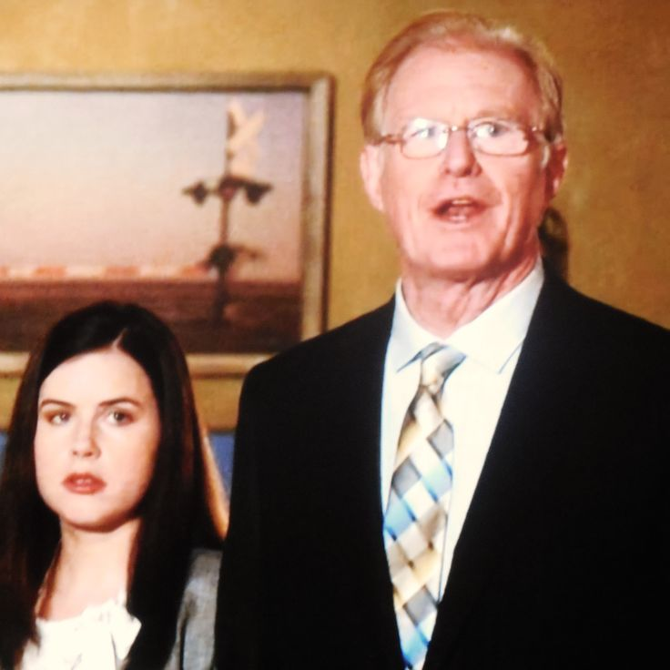 Jessie Ennis and Ed Begley, Jr.