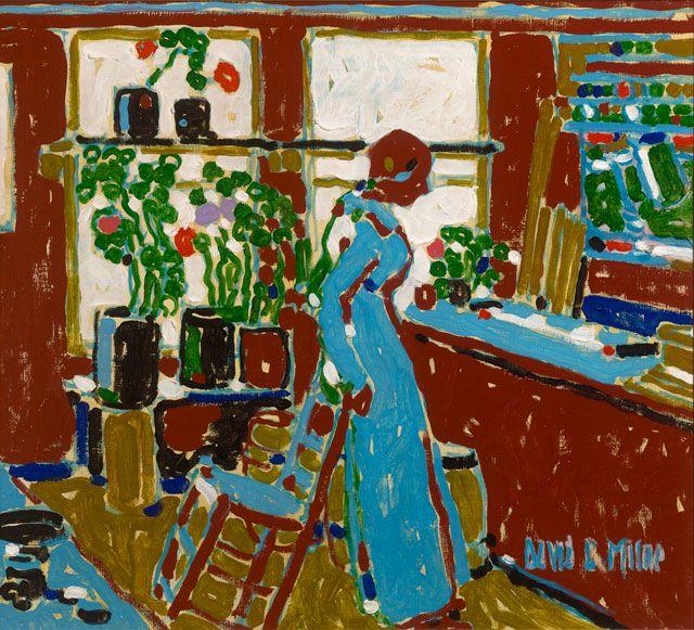 David Milne. Red, 1914. Milne Family Collection. Photograph: Michael Cullen, Toronto Canada. © The Estate of David Milne.