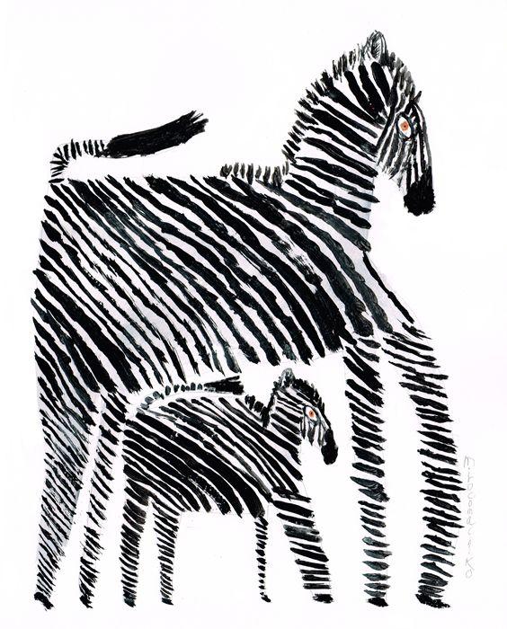 Zebra - Miroco Machiko