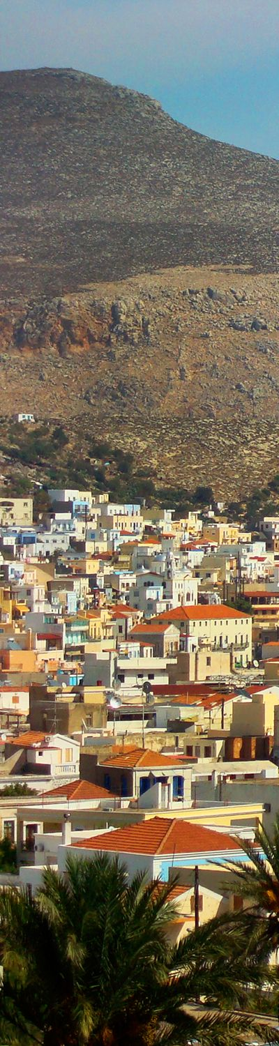 Kalymnos, Greece. The arid, mountainous island of Kalymnos, belongs to the Dodecanese islands in the southeast Aegean Sea. You will find a number of beaches to chose from!