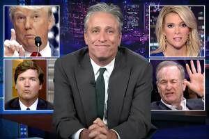 Jon Stewart's real threat to Fox News: You don't get to define patriotism!
