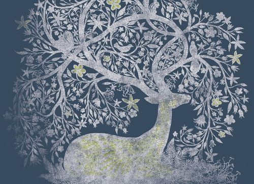 The roots of 'Santa' in the ancient spiritual traditions of the Winter Solstice & feminine spiritual symbols - lovely piece