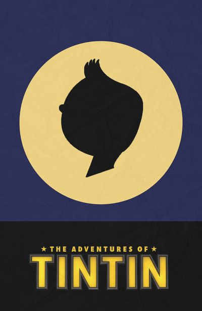 The Adventures of TinTin - Minimal Poster Art Print